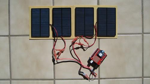 Four Panel Solar Array