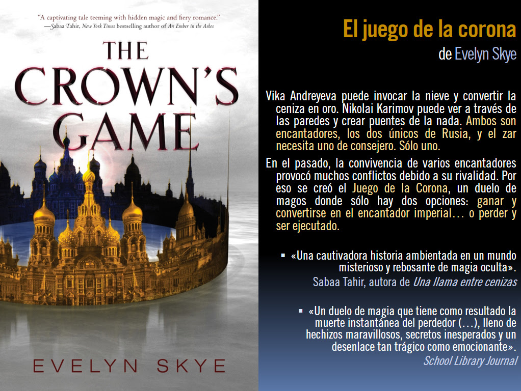 Resultado de imagen de reseña el juego de la corona