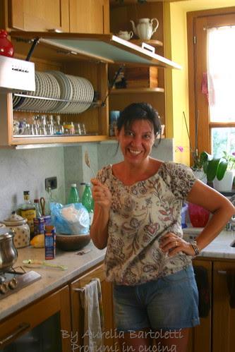 Laura in cucina
