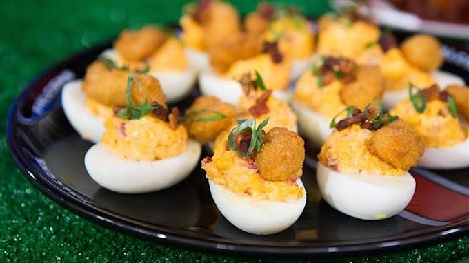 FOX NEWS: Pimento cheese stuffed deviled eggs for game day snacking