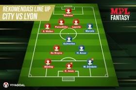 Manchester City Vs Lyon: Prediksi, H2H dan Rekomendasi Tim Fantasy Sepak Bola oleh - beritabolaterkini.website