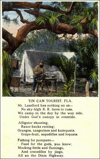 Tin can tourist: Florida (19--)