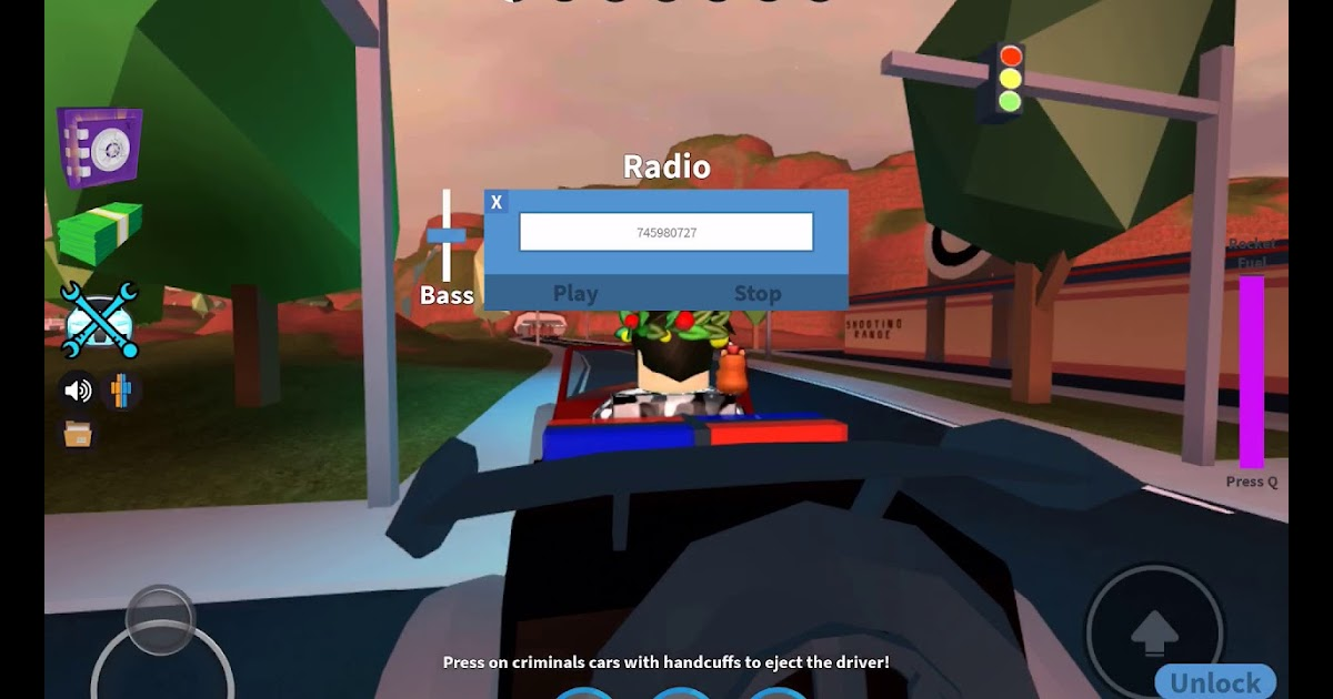 How To Use The Radio In Roblox Jailbreak Xbox One Free - roblox radio games