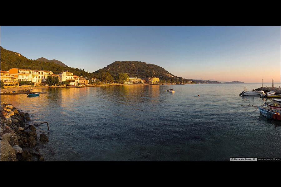 Панорама Беницеса   The panorama of Benitses