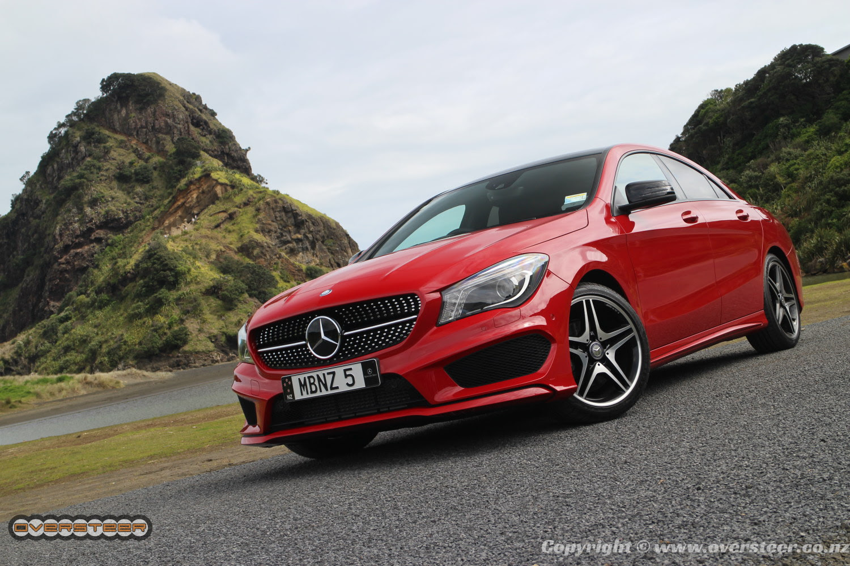FIRST DRIVE: Mercedes-Benz CLA   OVERSTEER