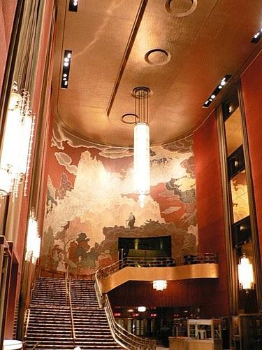 Foyer, Radio City Music Hall