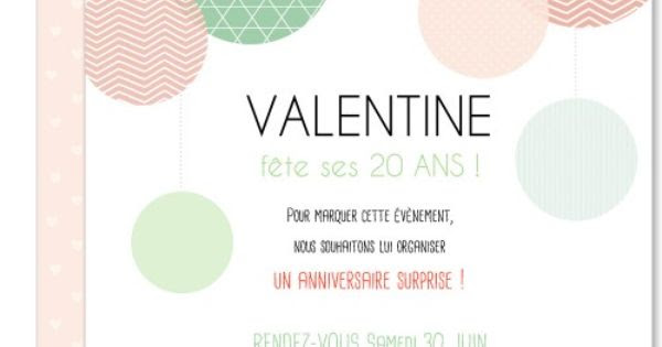 invitation anniversaire jeune fille. Black Bedroom Furniture Sets. Home Design Ideas