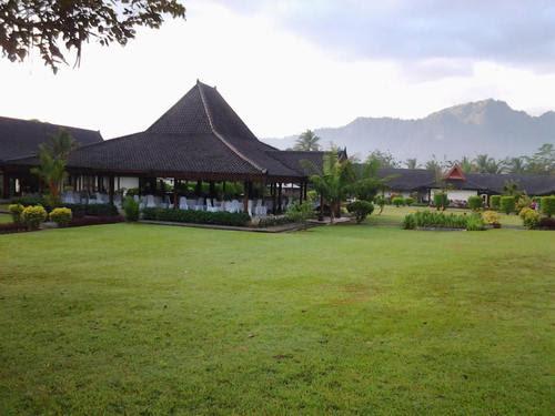 Ресторанта в хотел Манохара Борободур
