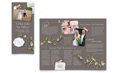 Wedding Planner Brochure Template   Word & Publisher