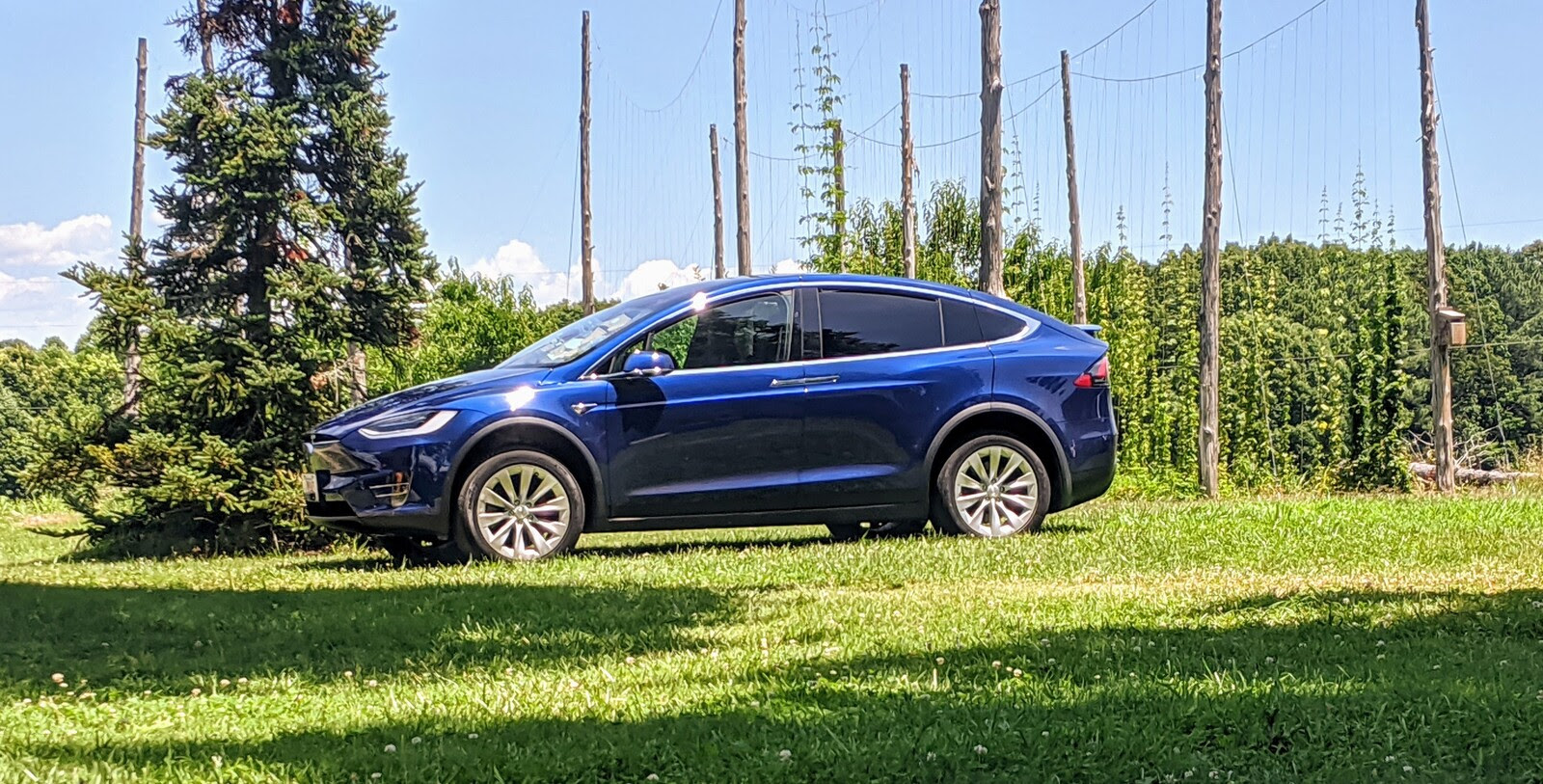 Stock 2020 Tesla Model X Performance Raven With Cheetah Stance Update 1 4 Mile Trap Speeds 0 60 Dragtimes Com