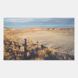 Desert Wave: Petrified Forest National Park Sticker