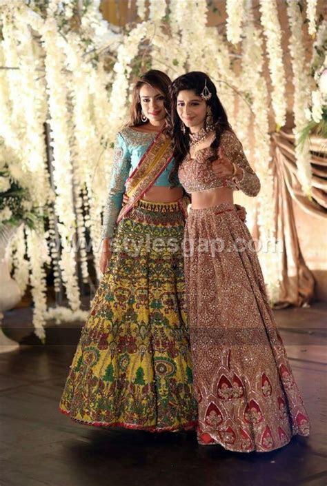 Latest Lehenga Choli Trends Designs 2019 20 Pakistani