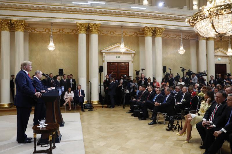 Μεγάλο το ενδιαφέρον των διεθνών ΜΜΕ για την συνέντευξη Τραμπ-Πούτιν