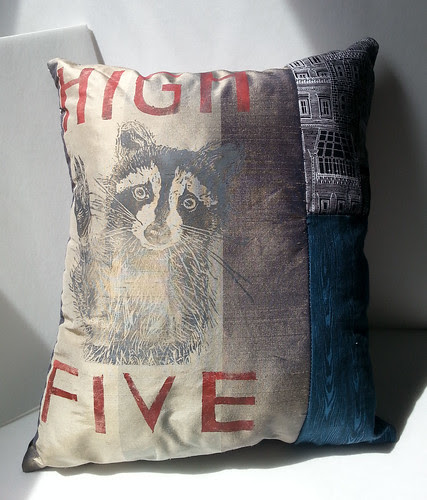 raccoon pillow 2