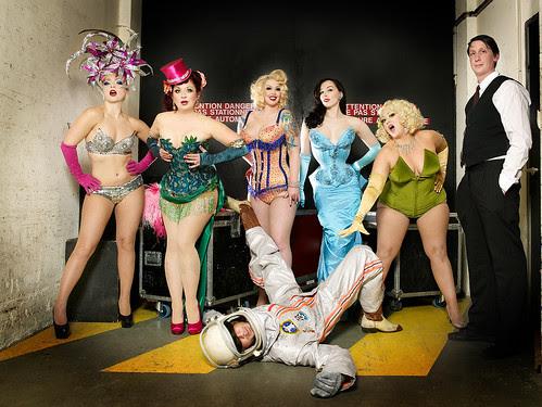 Cabaret New Burlesque photo by Eve Saint-Ramon