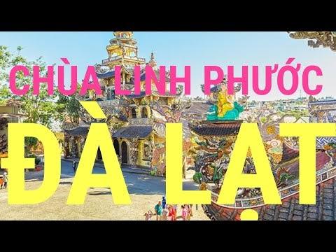 Ngôi chùa Linh Phước làm từ mảnh chai ít người biết tại Đà Lạt