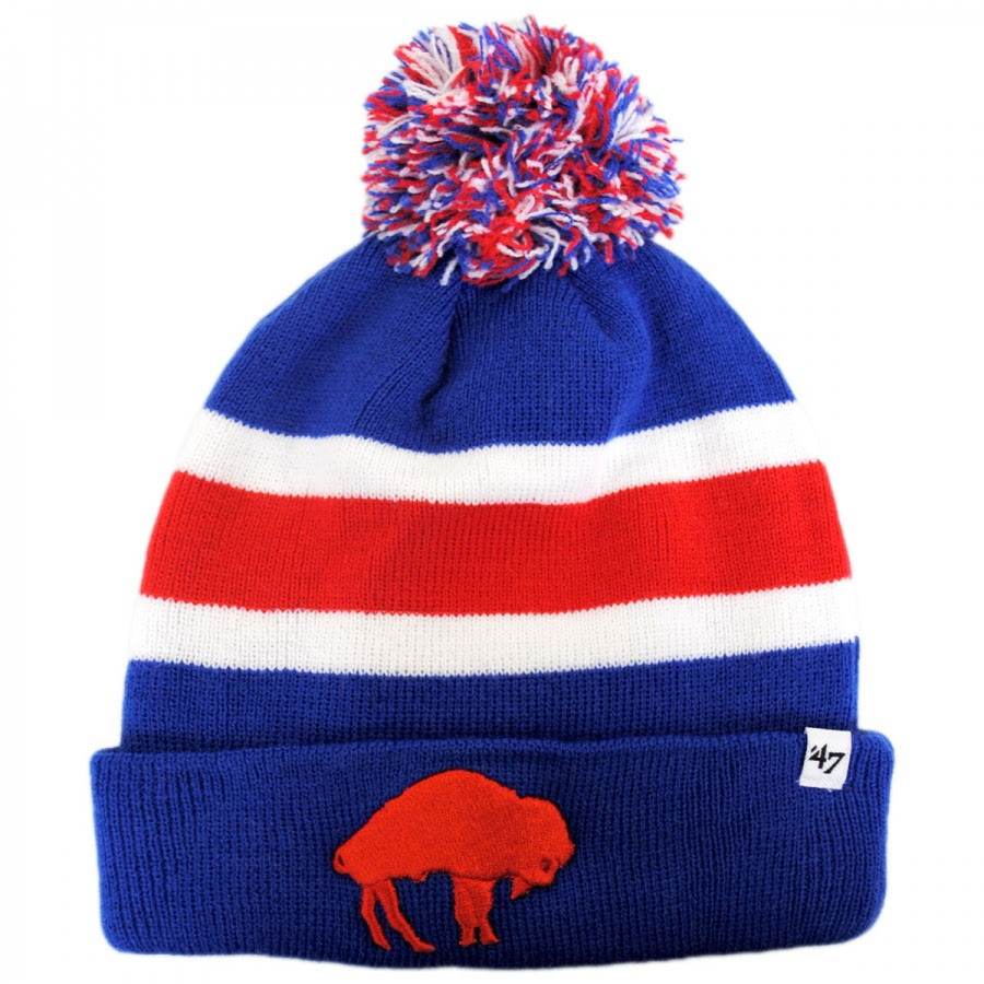 47 Brand Buffalo Bills NFL Breakaway Knit Beanie Hat NFL Football Caps