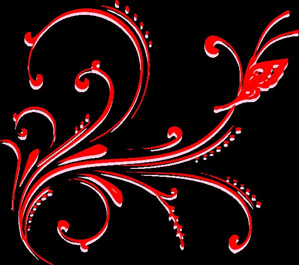 Butterfly Scroll Clip Art at Clker.com - vector clip art ...