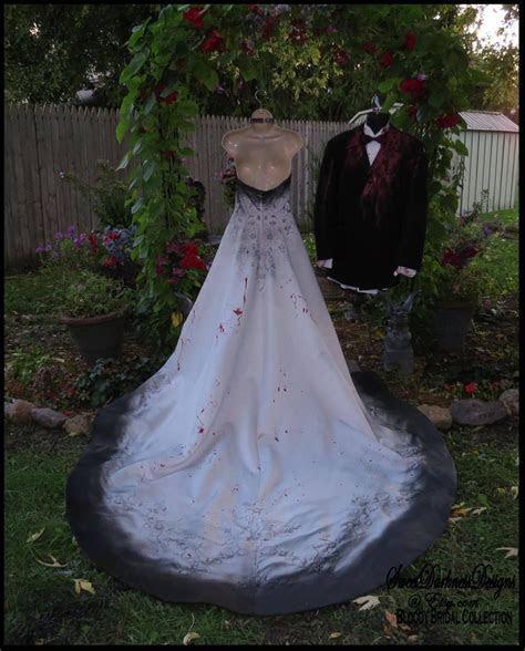 CORPSE BRIDE Zombie Bride Tim Burton Wedding Dress Vampire