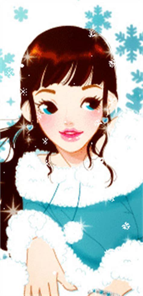 gambar kartun korea cantik jatuh cinta gambar anime