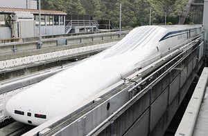 Japan's maglev train clocks new world speed record — 603 km/hr