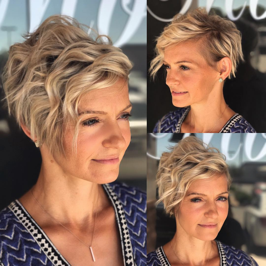 10 Best Short Hairstyles For Thick Hair In Fab New Color Combos