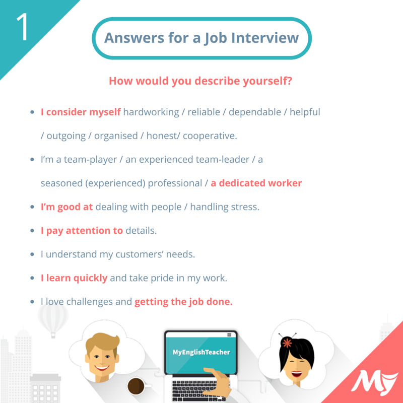 Questions and Answers to Prepare You for a Job Interview ...