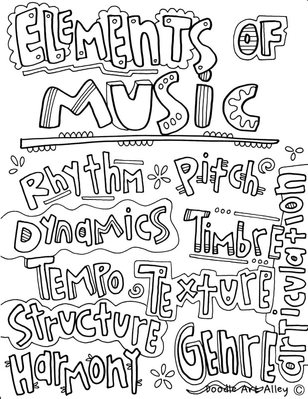 480 Coloring Pages Music For Free