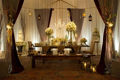 Elegant Event Lighting Featured in Chicago Style Weddings