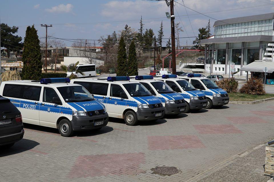 Αποτέλεσμα εικόνας για γερμανοί Αστυνομικοί στο Κιλκίς