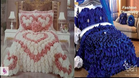 Beautiful Designer bed sheets/ Bridal Bed sheets /luxury