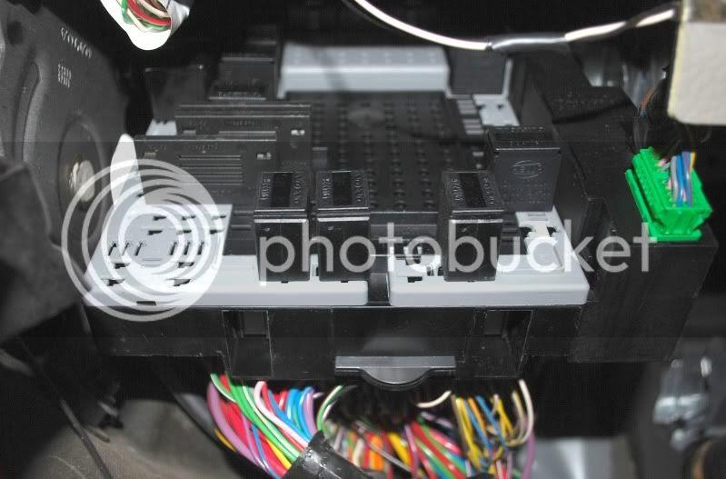 Volvo S40 T5 Fuse Box