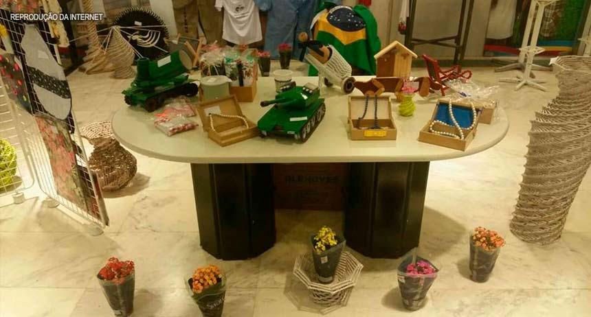 Resultado de imagem para Funap expõe produtos fabricados por reeducandos em feira internacional