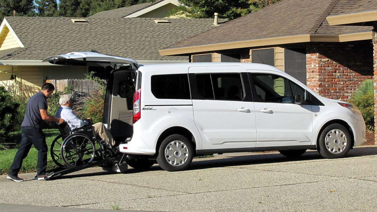 Ford Transit Connect Wheelchair Accessible Nor Cal Vans