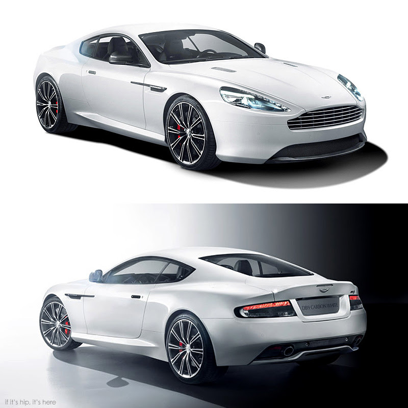 db9 carbon white hero IIHIH