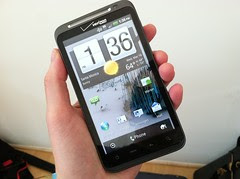 HTC Thunderbolt inna house at @Tecca HQ... sme...