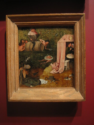 An Allegory of Intemperance, c. 1495-1500, Hieronymus Bosch _7715