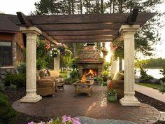 Backyard Designs / Decor / Ideas on Pinterest