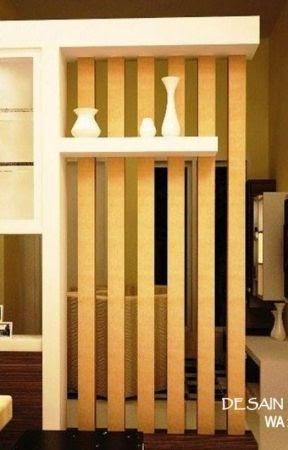 desain penyekat ruangan minimalis modern - desain dekorasi