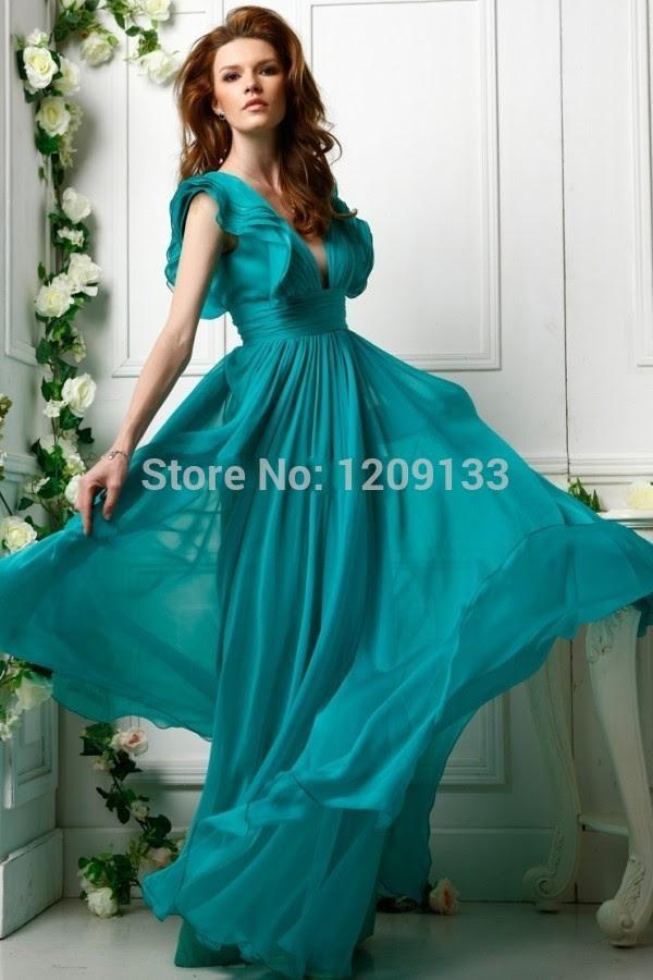 Outlet designer evening dress