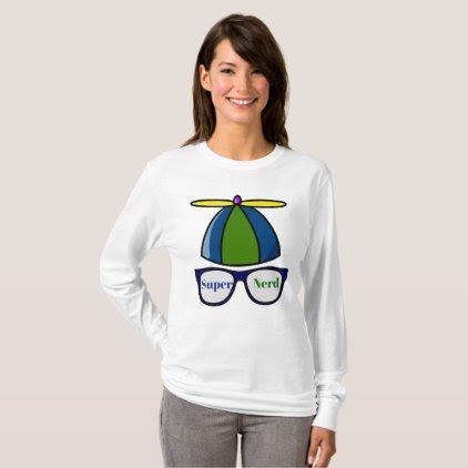 T shirt Super Nerd