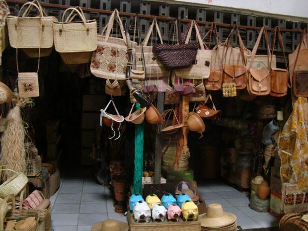 Mercado Central de Teresina tem fornecimento de energia suspenso (Foto: Gil Oliveira/ G1)