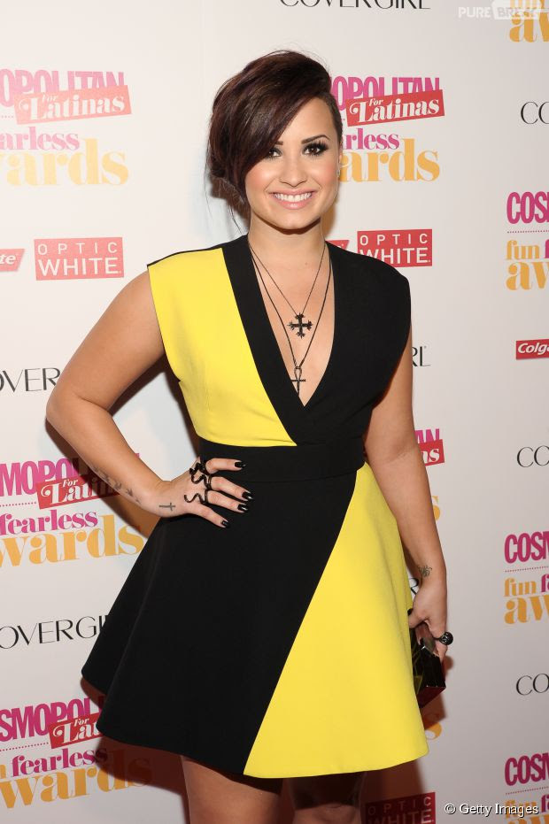 Demi Lovato na verdade se chama Demetria