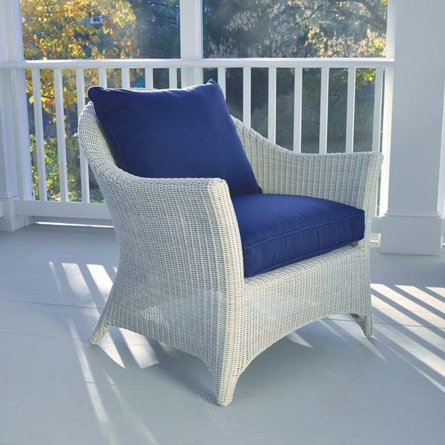 Kingsley Bate Cape Cod Deep Seating Lounge Chair - patio furniture