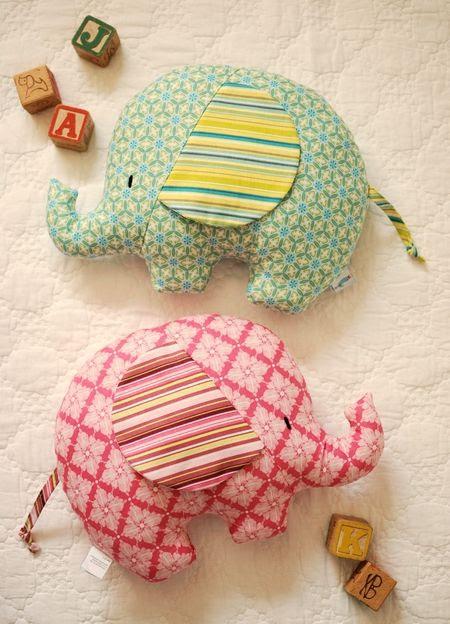 retro mama: elephant softies