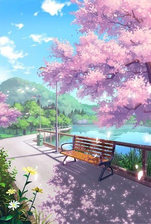 Anime Nature Backgrounds Pack #1