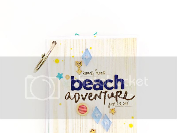 Citrus Twist Kits : Beach Adventure Mini Album