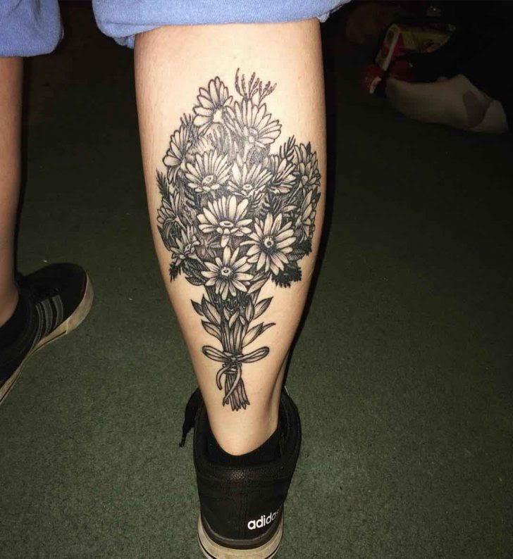 Bouquet Of Flowers Tattoo Best Tattoo Ideas Gallery