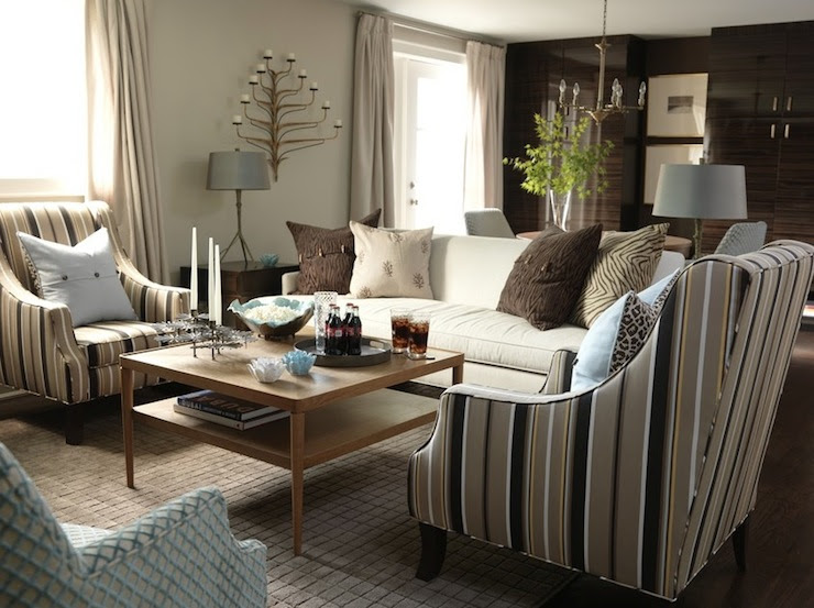 Sarah Richardson Living Room - Transitional - living room - ICI