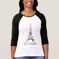 vintage le paris tee shirt